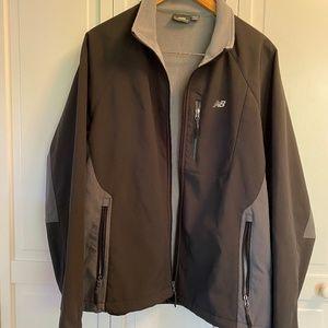Men's Large New Balance Jacket, Fleece-Lined, Soft Shell Pockets